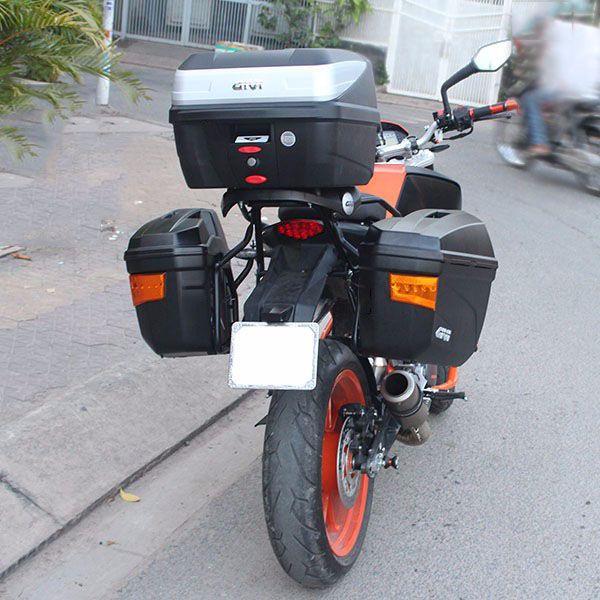 bộ thùng cho xe KTM Duke 390
