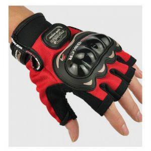 Găng tay hở ngón Pro Biker (Đỏ)