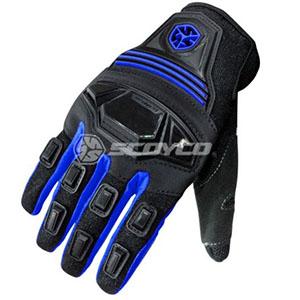Găng tay scoyco full ngón (xanh)