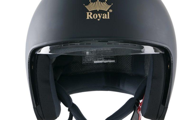 Nón Royal M139 đen mờ