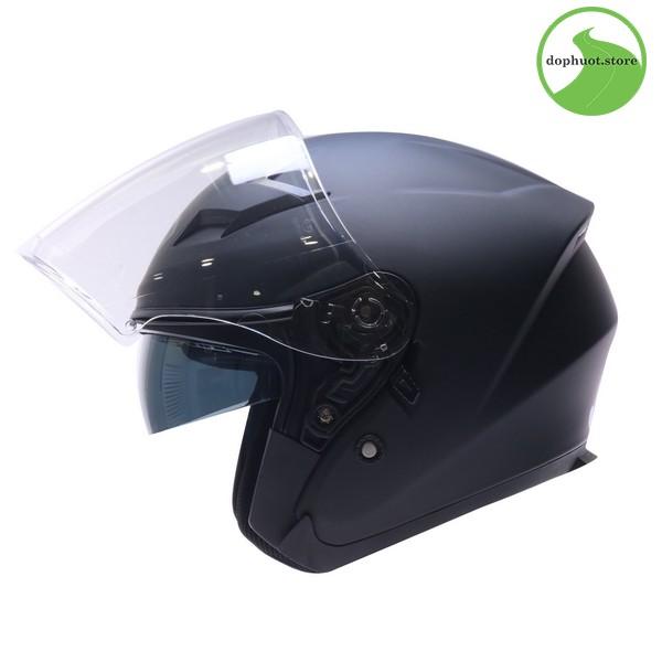 Vỏ mũ bảo hiểm Yohe 878 được làm từ nhựa ABS cao cấp nên độ bền rất cao.