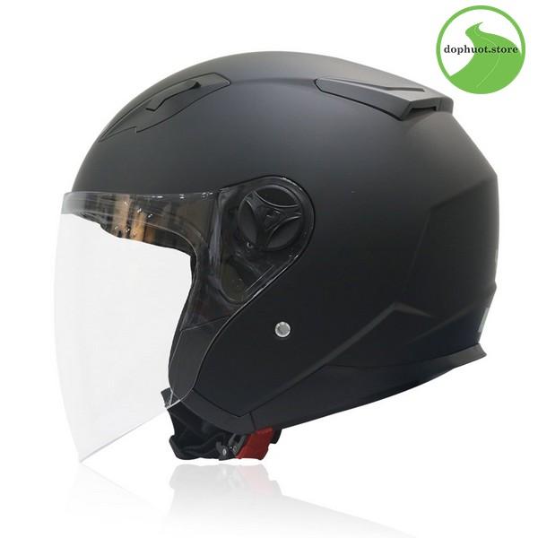 Vỏ mũ bảo hiểm Yohe 863A được làm từ nhựa ABS nguyên sinh
