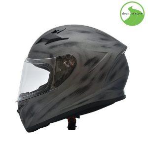 mũ fullface Yohe 978 Storm đó chính là nhựa nhựa ABS nguyên sinh cao cấp