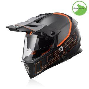 Kính chắn mũ bảo hiểm ls2 Pioneer MX436 cảo cấp