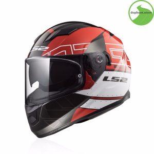 mũ bảo hiểm ls2 FF320 chính hãngđược trang bị kính chắn chất liệu Polymer cao cấp A class
