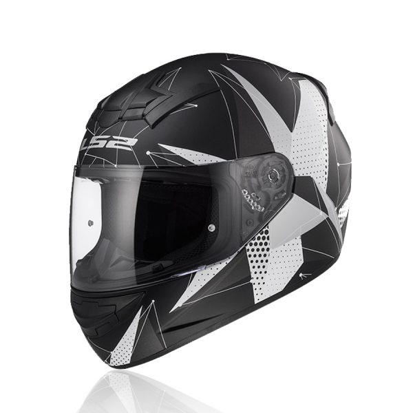 vỏmũ bảo hiểm ls2 FF352được trang bị bằng nhựa nguyên sinh ABS mang đến sản phẩm ưu việt.