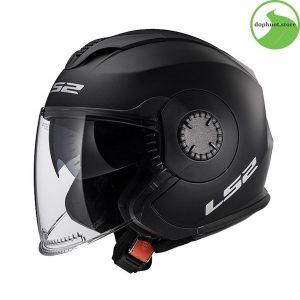 Mũ bảo hiểm ls2 of570 sang trọng chất liệu vỏ mũ cao cấp