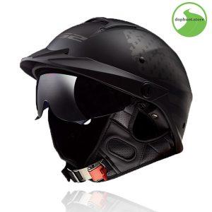 Kính chắn mũ bảo hiểm nửa đầu ls2 HH590chính hãngcó khả năng quang học,