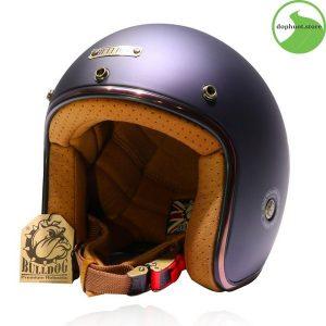 Mũ bảo hiểm Bulldog Perro Version 3 là dòng mũ 3/4 cổ điển được trau chuốt sang trọng