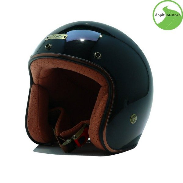 Mũ bảo hiểm Bulldog JIS2 có vỏ được làm từ chất liệu mút xốp EPS dày dặn