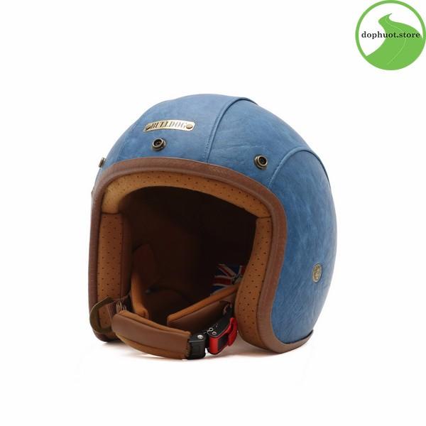 Lót mũ Bulldog Leather 2017 có thể tháo dễ dàng để vệ sinh