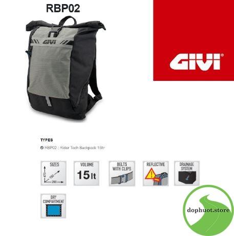 balo chống nước RBP02 Givi