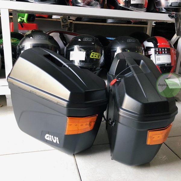 thùng đôi givi e22n-s