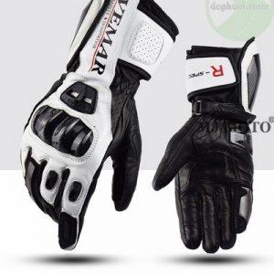 Găng tay cao cổ Vemar VE - 176 màu đen trắng